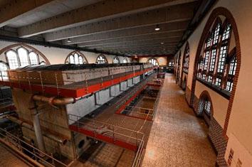 Klang- und Lichtinstallation im Wasserwerk Severin II