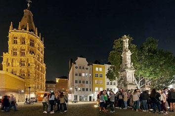 Lichtpfad Köln Lichtführung durch die Innenstadt